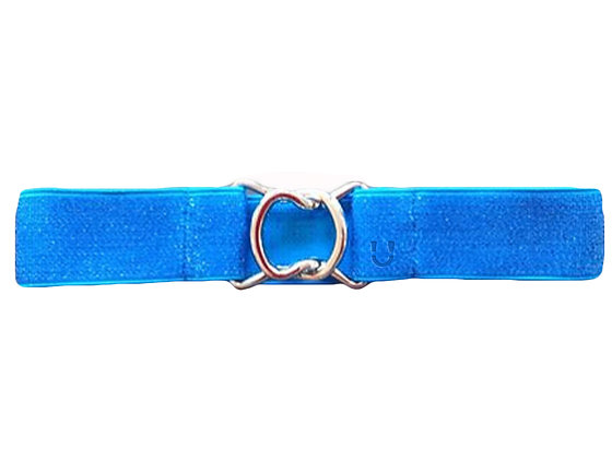 Kids Blue Glitter and Silver Clasp