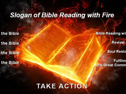 Churches United│Bible Reading with Fire