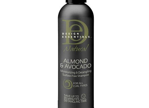 Design Essentials Almond & Avocado Sulfate Free Shampoo
