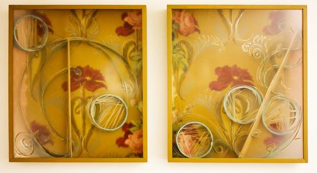 """Vestiges 1& 2"", 2013"