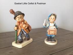 Goebel Little Cellist&Postman