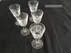 Waterford Wine Glasses