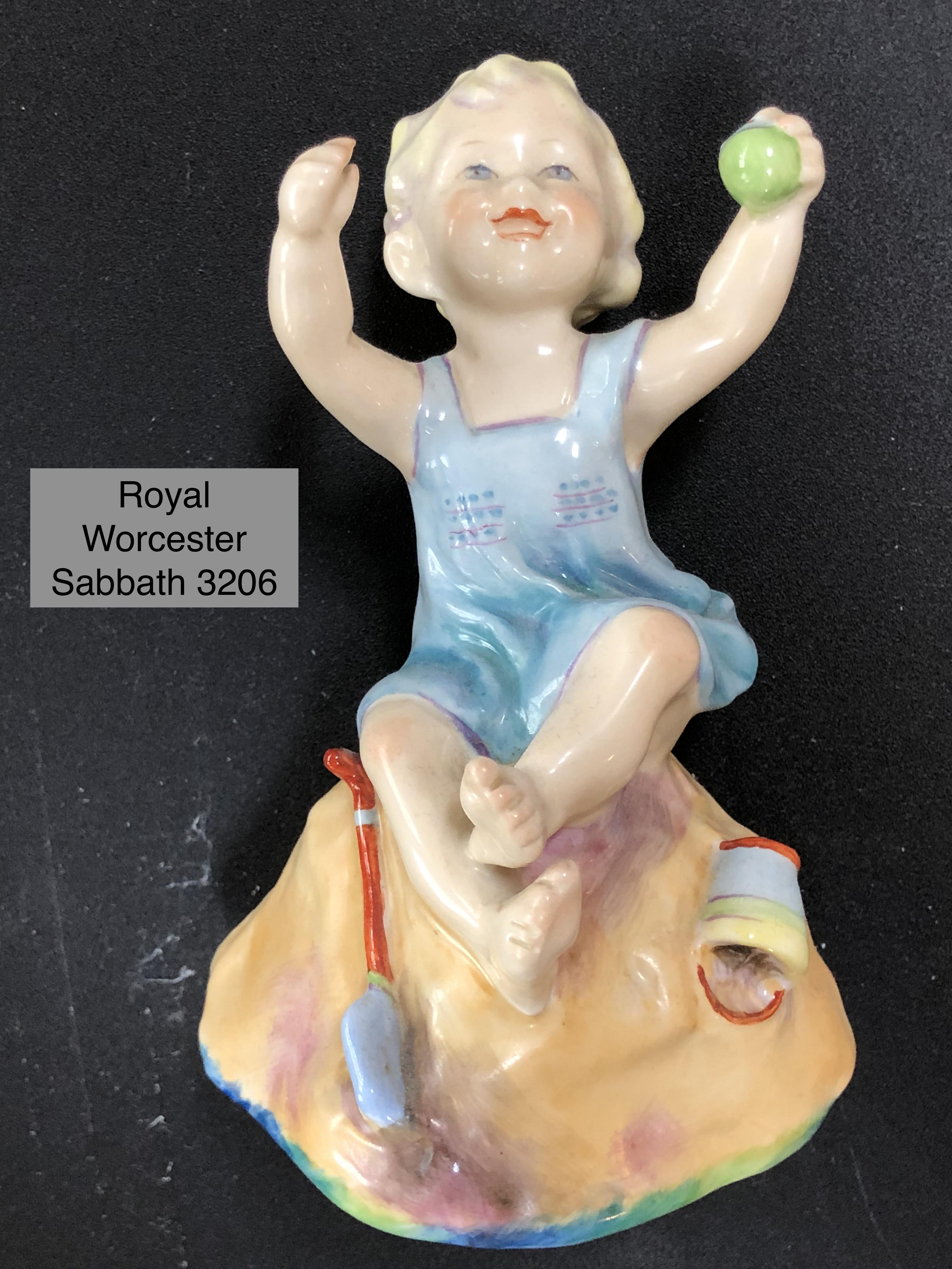 Royal Worcester Sabbath 3206