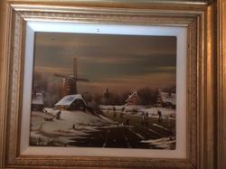 """14x16"""" oil by Johannes Kaiser"""