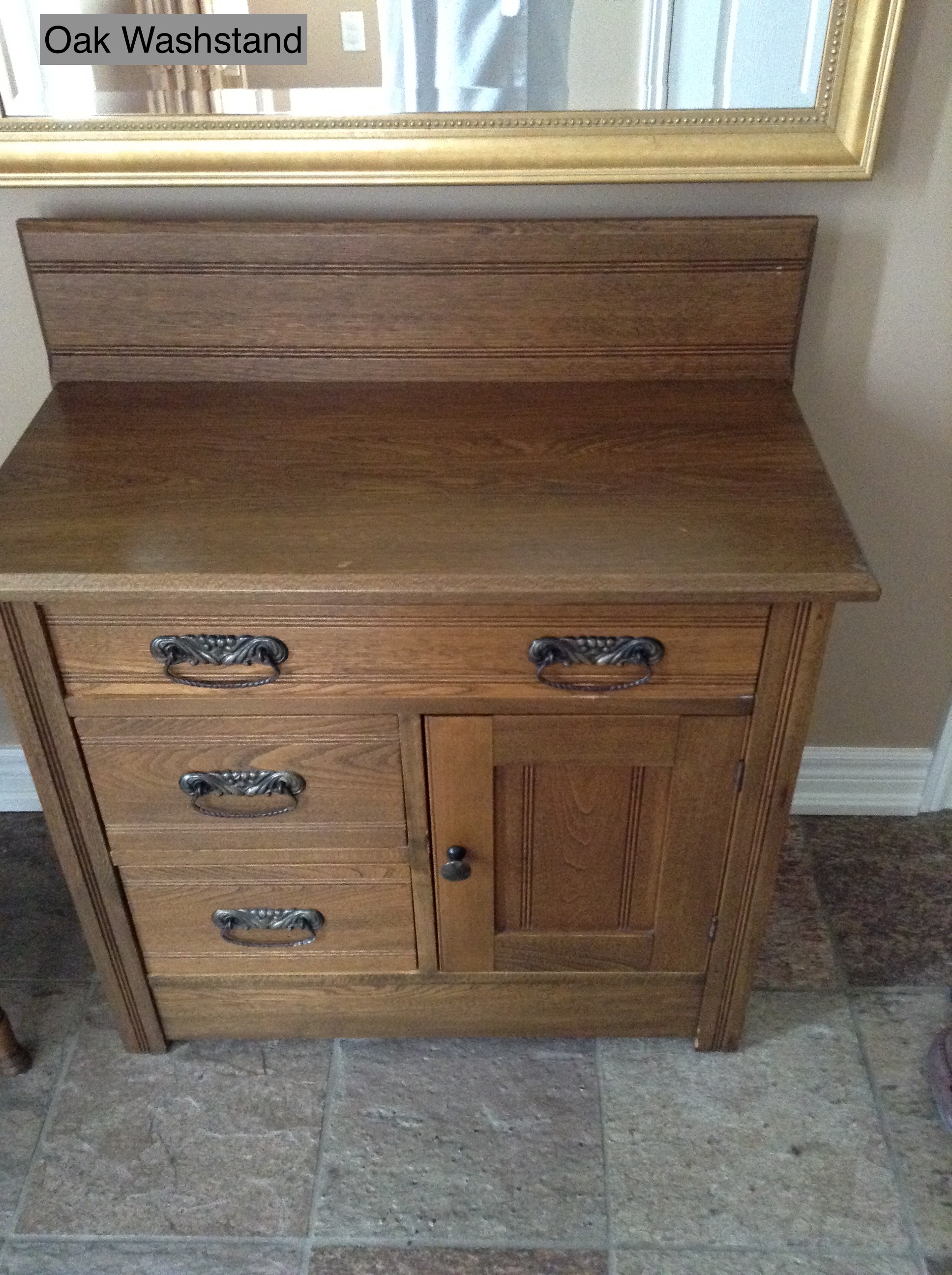 Oak Washstand
