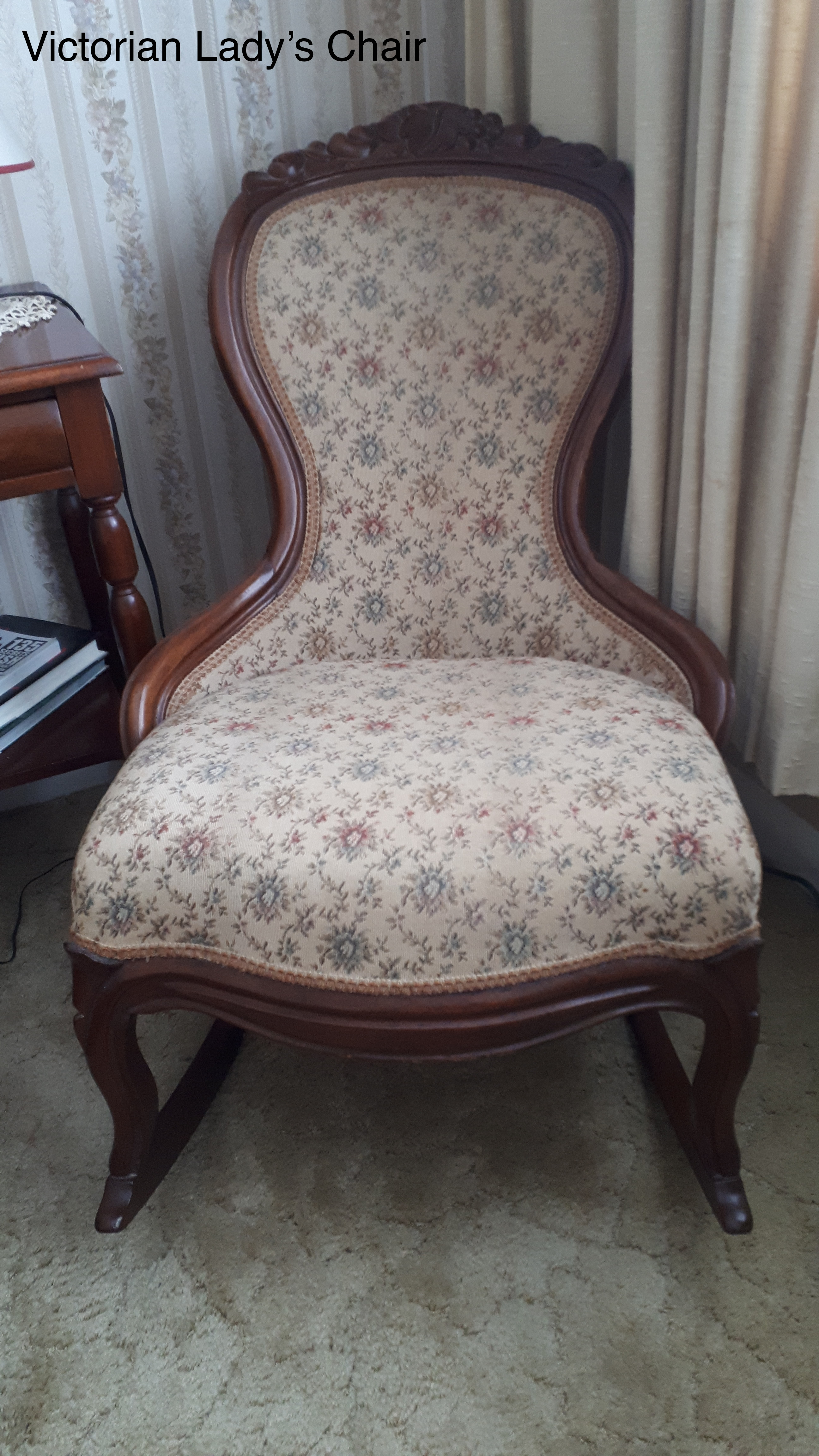 Victorian Ladys Chair