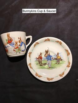 Bunnykins Cup & Saucer
