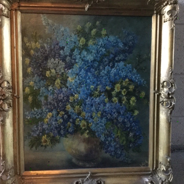 "Blue flowers by ""Helen"""
