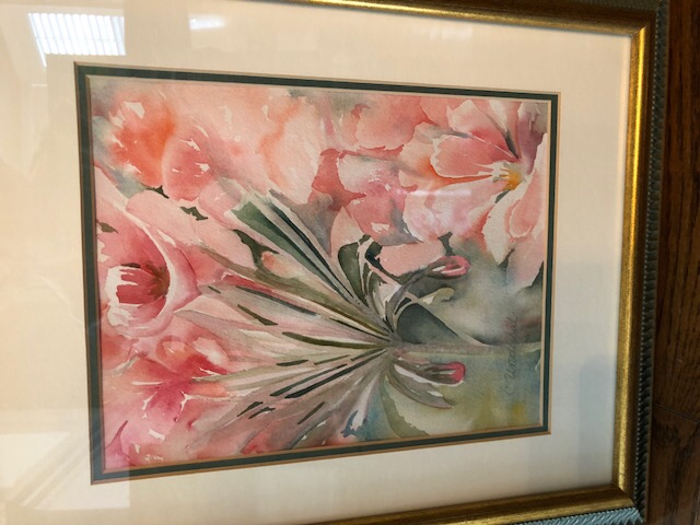 floral watercolour