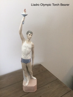 Lladro Olympic Torch Bearer
