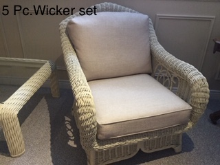 Wicker Set 5Pc
