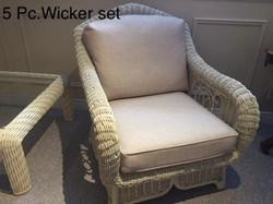 Wicker Set 5Pc