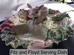 Fitz And Floyd Serving Dish