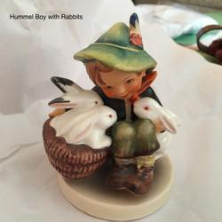 Hummel Boy With Rabbits