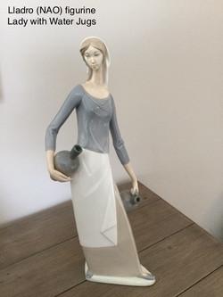 Lladro Figurine Lady