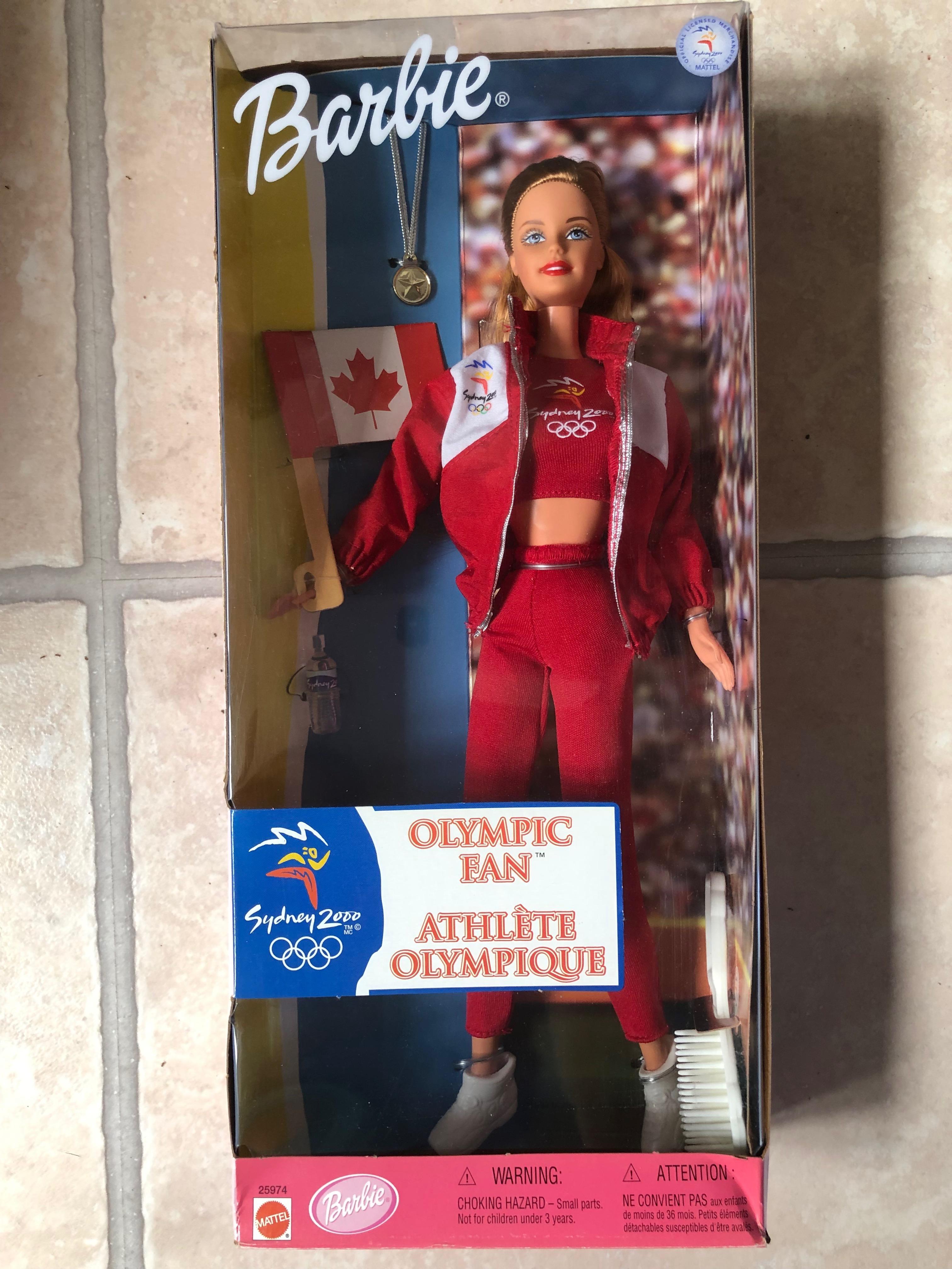 Barbie Olympic Fan