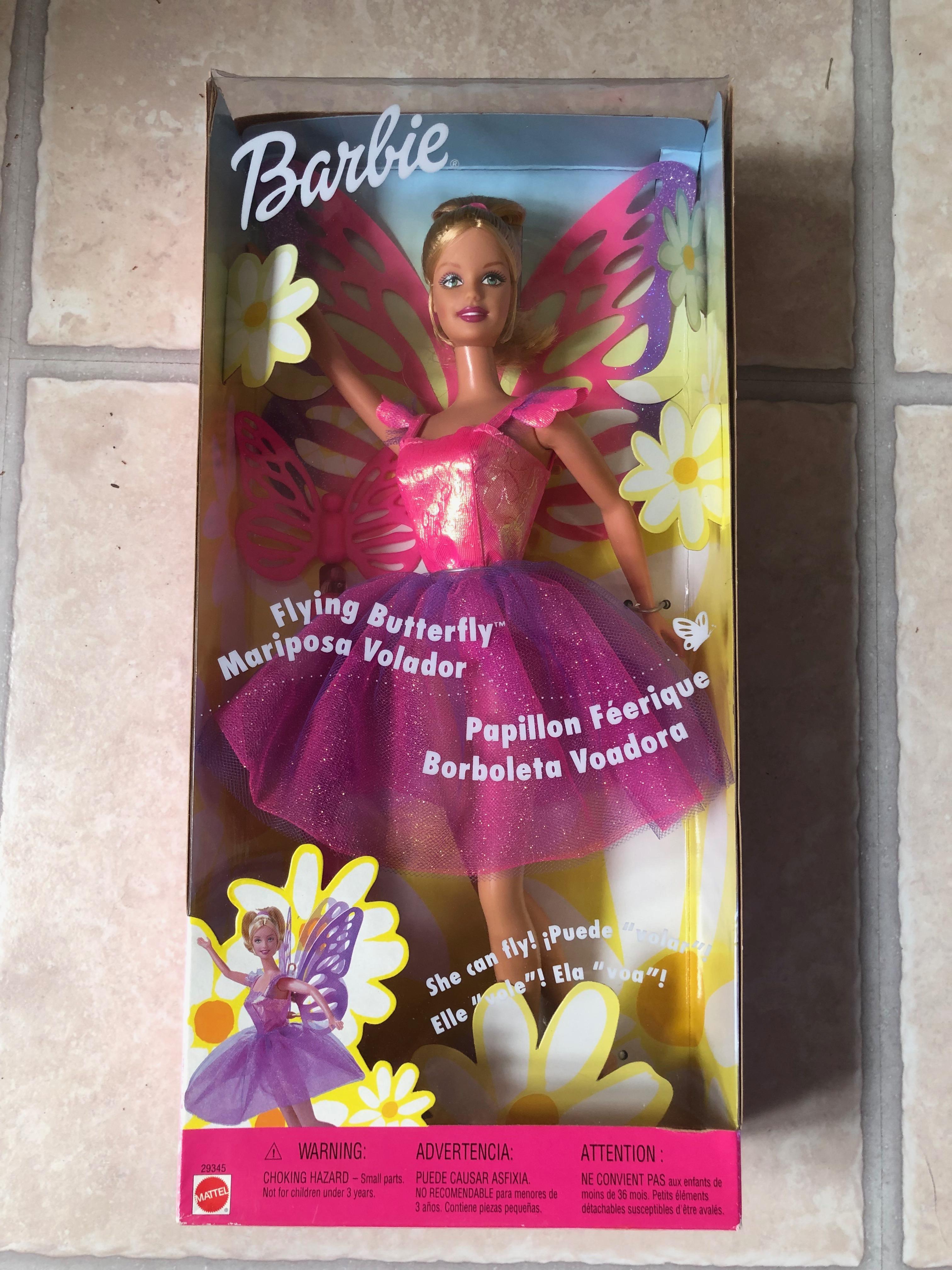 Barbie Flying Butterfly