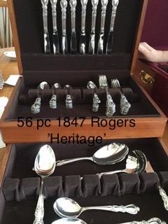 Rogers Heritage 56pc 1847