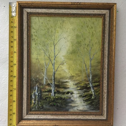 """7x10"""" forest path"""