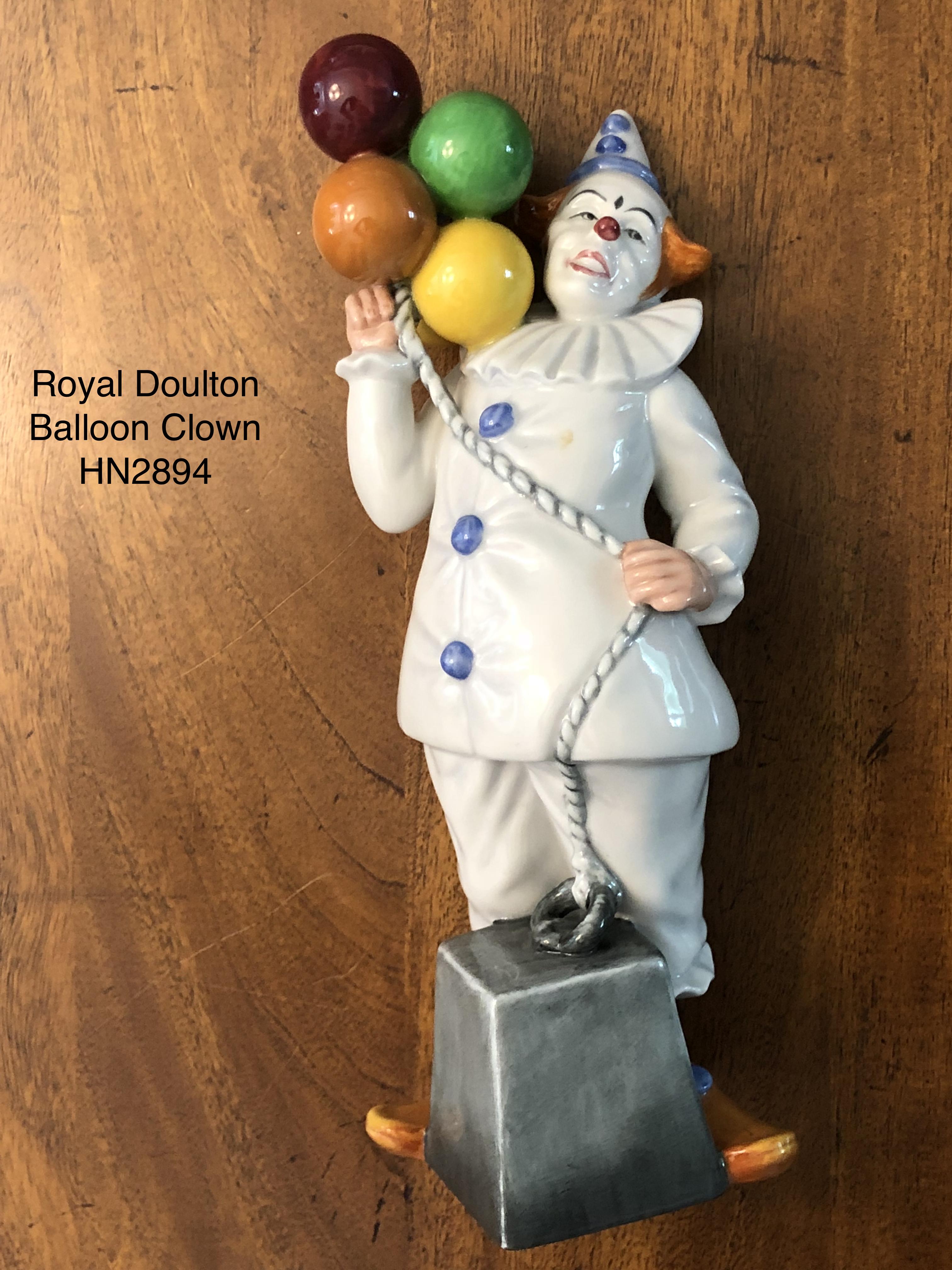 Royal Doulton Balloon Clown HN2894