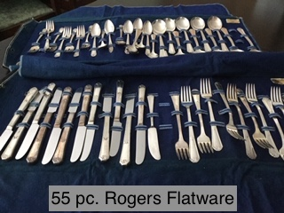 Rogers Flatware 55pc