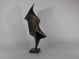 New sculpture delivered to the Gallery
