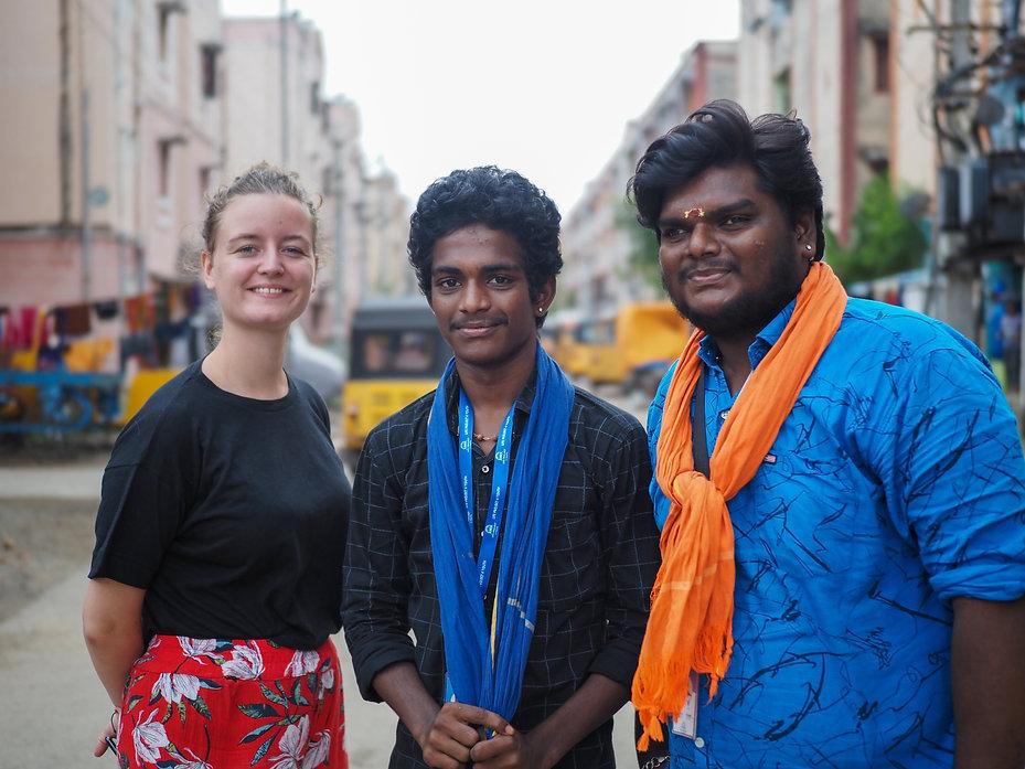 CHENNAI - Aileen Coach, Nirosh & Jayakum