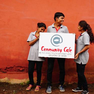 community-cafe-youth-gv-raipur-india