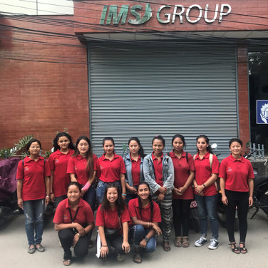 company-visit-ims-group-youth-lp4y-nepal