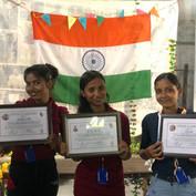 Chandni Shaw, Reema Dhruva, Hena Das (HP
