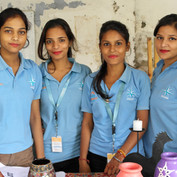 Delhi - Khazana team selling their decor