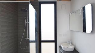 Salle de douche parentale - Fin des travaux