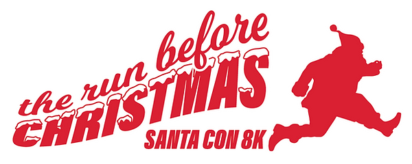 The Run Before Christmas Santacon 8K Logo