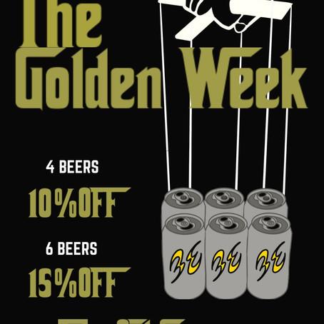 Golden Week Campaign