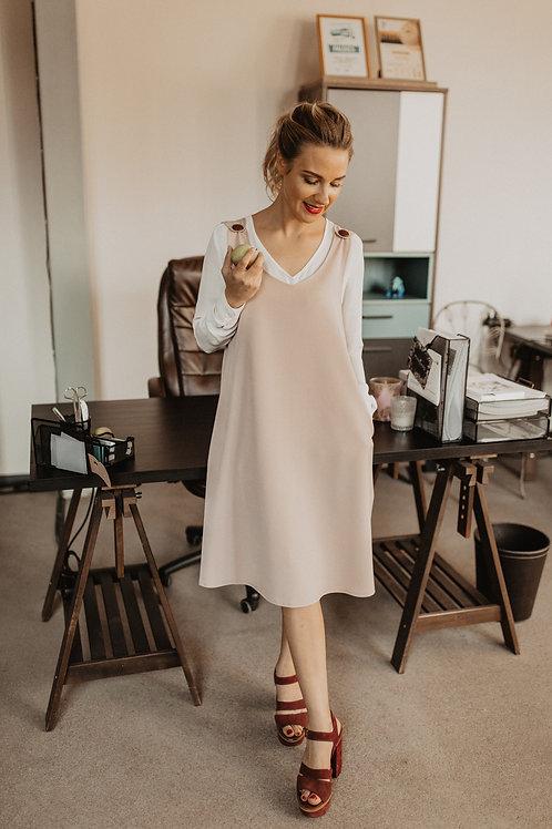 COTTON SARAFAN DRESS