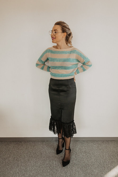 PENCIL SKIRT WITH LASE