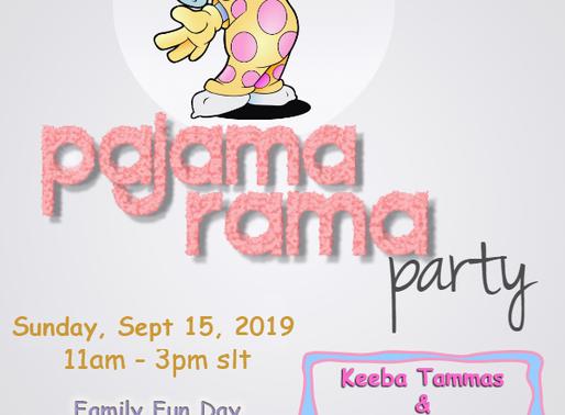 Pajama-Rama Family FunDay For Childhood Cancer Awareness