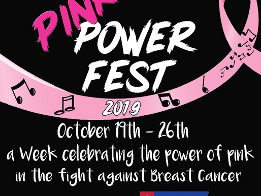 Get Ready for Pink Power Fest & Strides Walk-a-thon & Harvesting Hope Gala