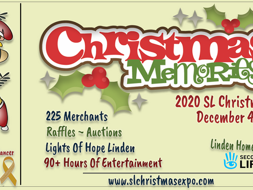 The 2020 SL Christmas Expo Opens Friday, December 4th