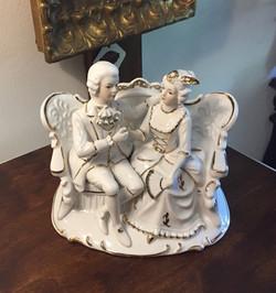 Figurka - Para dworska