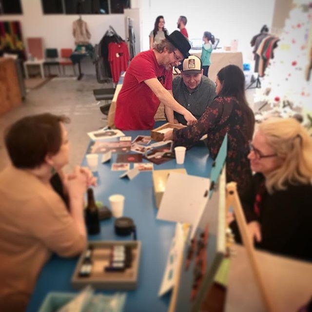 Wishing you a creative holiday season! #procrastinators #handmade #shoplocal #happyholidays🎄