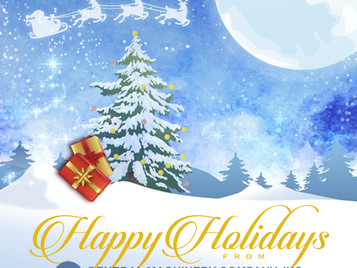Happy Holidays from General Machinery