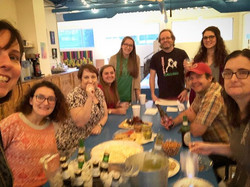 An imperfect picture for a fantastic group of people #Yardies #coworking #happyhour #membershiphasit