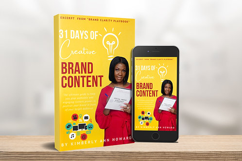 31 Days of Creative Brand Content