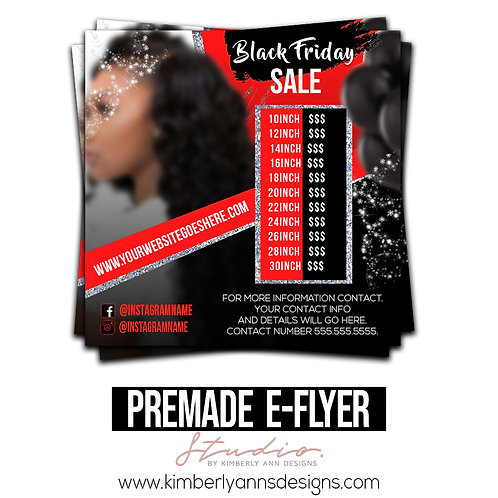 Black Friday Premade Template 2