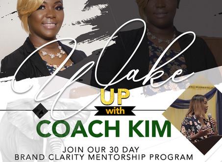 Wake Up With Coach Kim