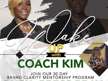 Wake Up With Coach Kim