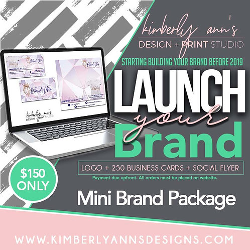Launch Your Brand Mini Package