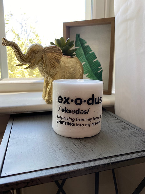 Exodus Medium Candle