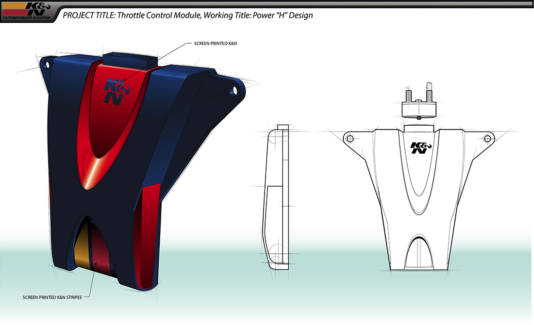 K&N Throttle Module Power H Design